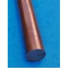 Pręt miedziany fi 10x600 mm M1E Z4